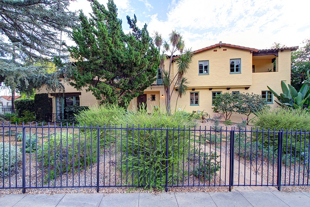 Spanish Colonial Revival at 1674 Hill Drive