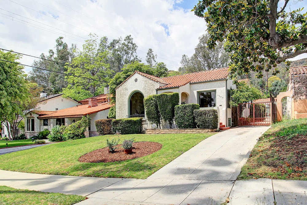 Spanish Charmer with Pool at 1683 Hill