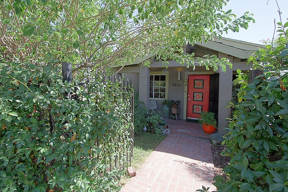 Vine-Covered Artist's Retreat at 5054 Irvington Place